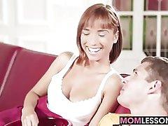 Tina & s hete stiefmoeder is druipend natte
